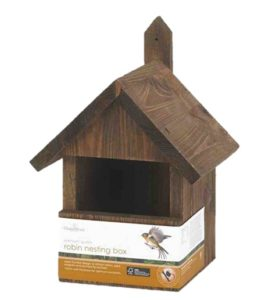 Solus Chapelwood Robin Nest Box