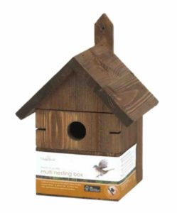 Solus Chapelwood Multi Hole Nest Box