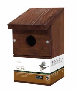 Solus Garden and Leisure Ltd Chapelwood Wild Bird Classic Nest Box