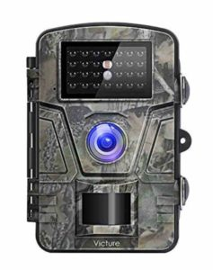 Victure Wildlife Camera 1080P 12MP Trail Game Camera Motion Activated Night Vision with 2.4